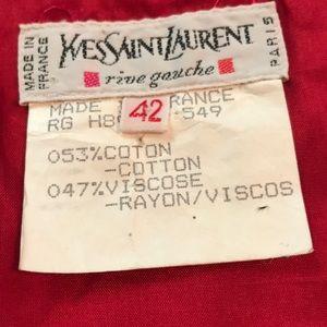 Vintage Yves Saint Laurent skirt!!